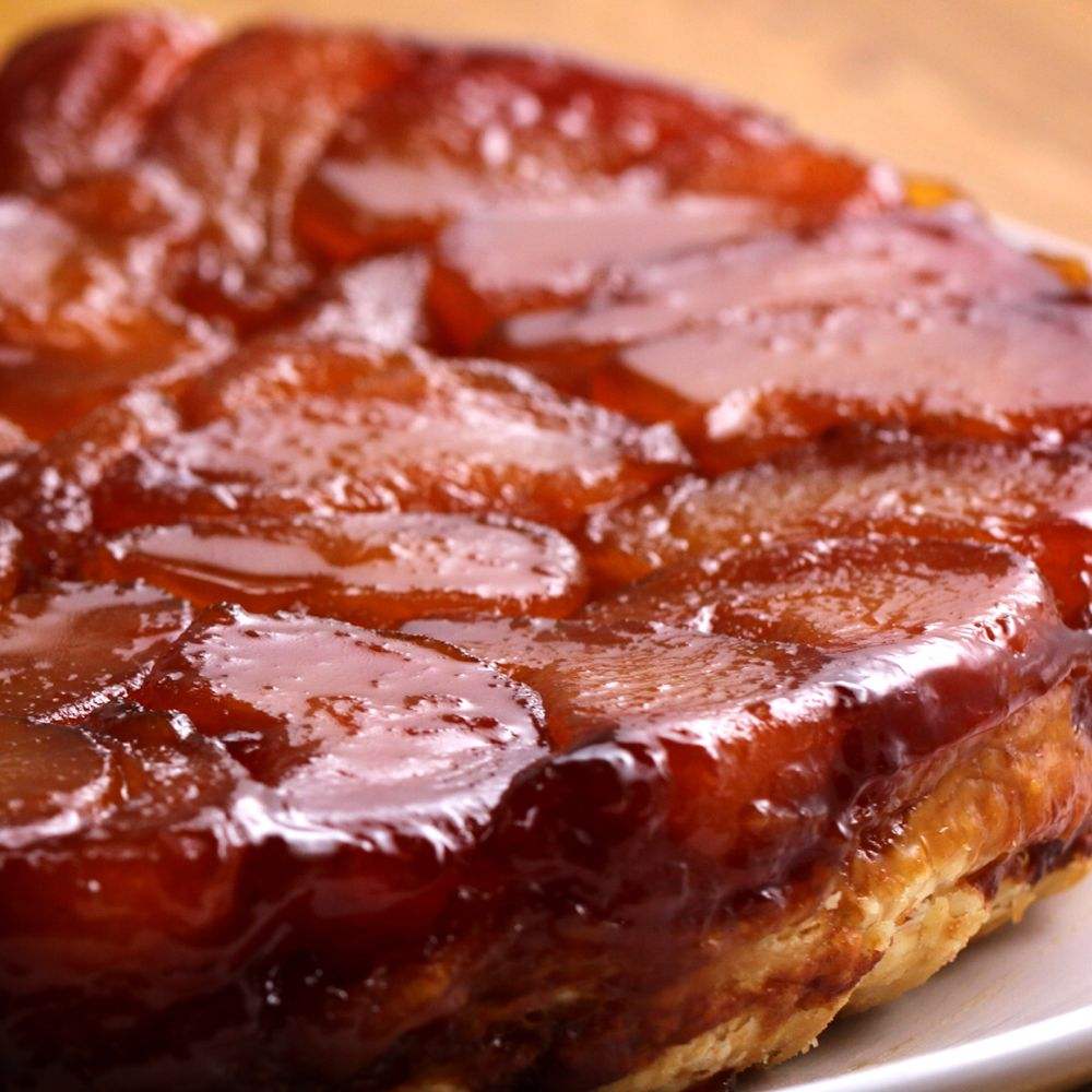French-Style Apple Tart (Tarte Tatin) Recipe by Tasty