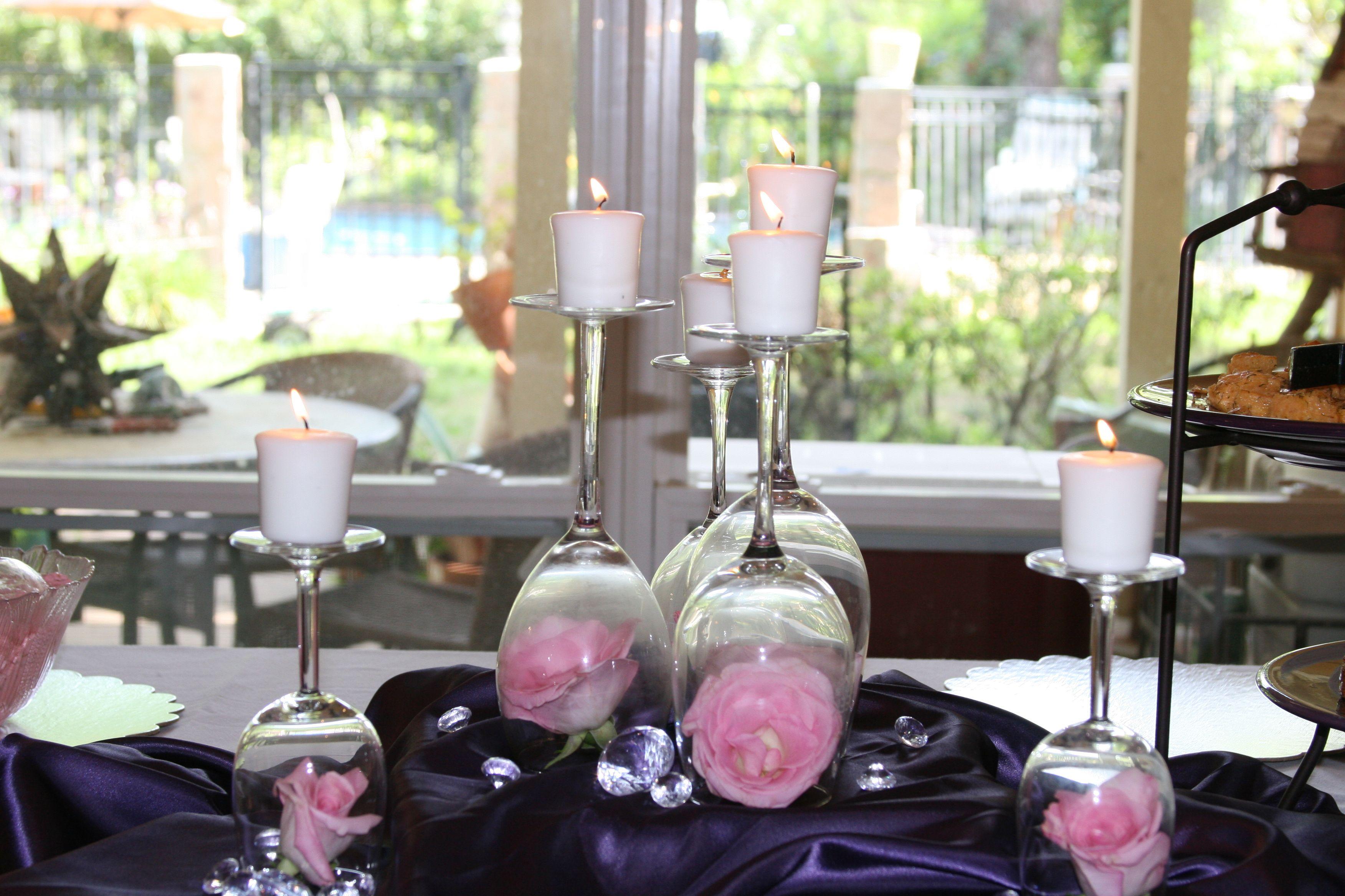 Pinterest Bridal Shower: Table Decoration For Bridal Shower