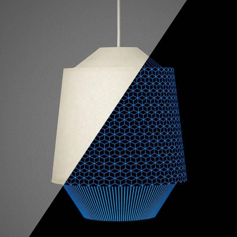 Ontwerpduo Hanglamp Loena lantern High papier creme ø24x28,5cm - wonenmetlef.nl