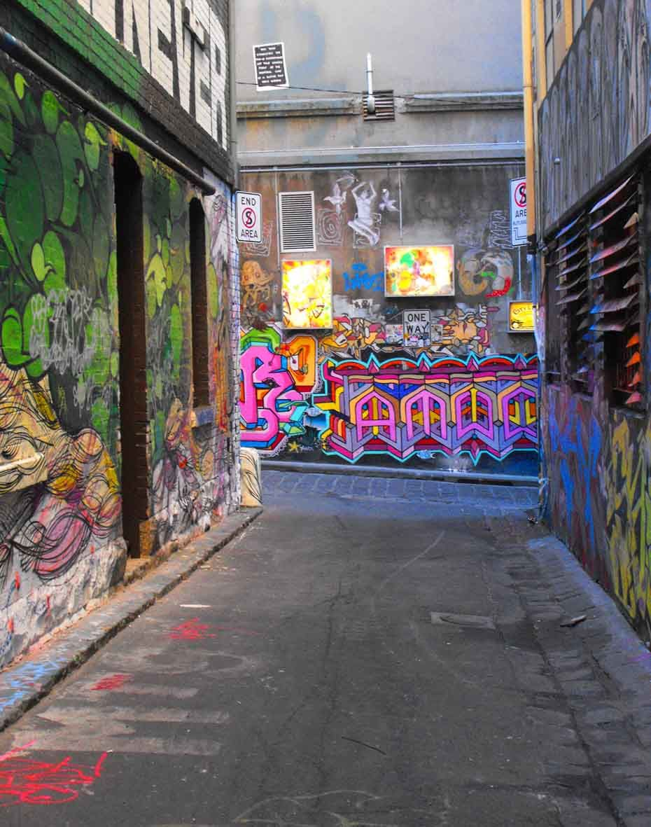 Graffiti art for sale melbourne - Melbourne Laneways