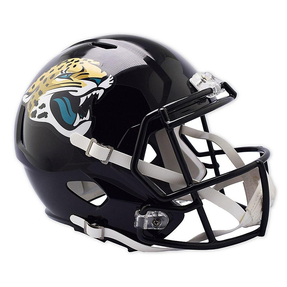 Riddell® NFL Jacksonville Jaguars Speed Replica Helmet (With images) | Jaguars helmet, Football ...