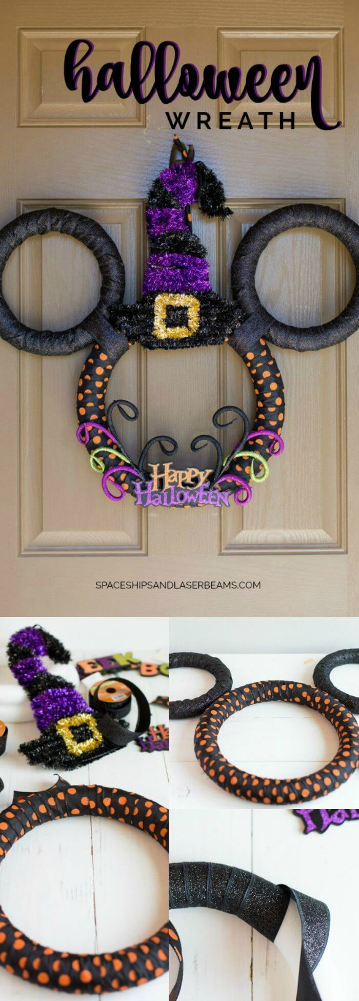 Welcome Fall Scents + a DIY Halloween Wreath