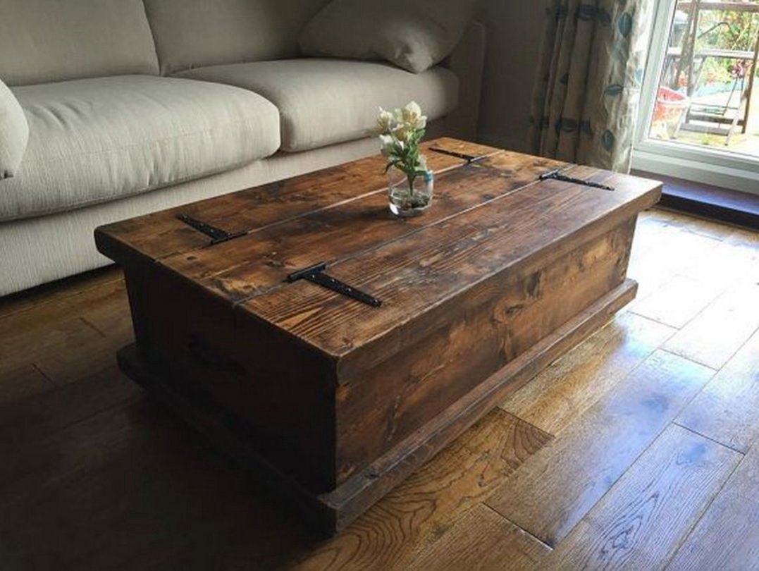 How To Decorate Your Coffee Table Design Like A Pro Chest Coffee