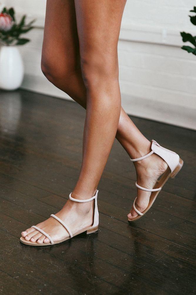 29f27f270 BILLINI Unique Sandal Nude Suede