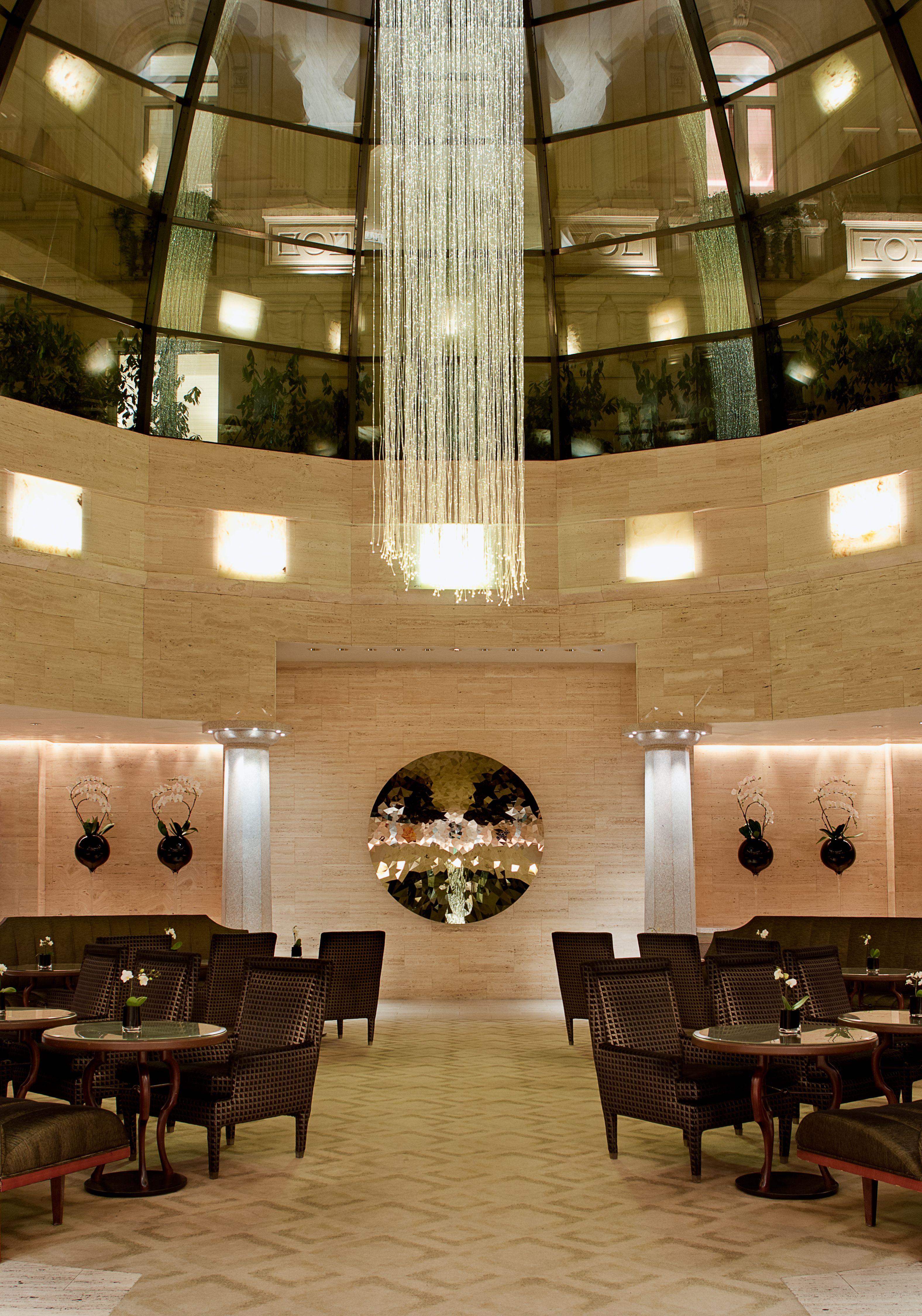 Cupola Lobby Lounge Park Hyatt Milano