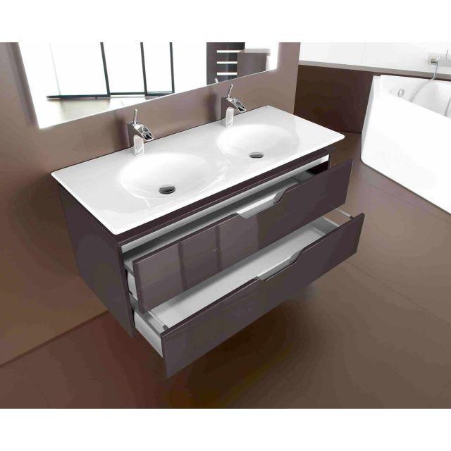 Roca Kalahari 1200mm Double Basin Furniture Unit Bathroom Vanity