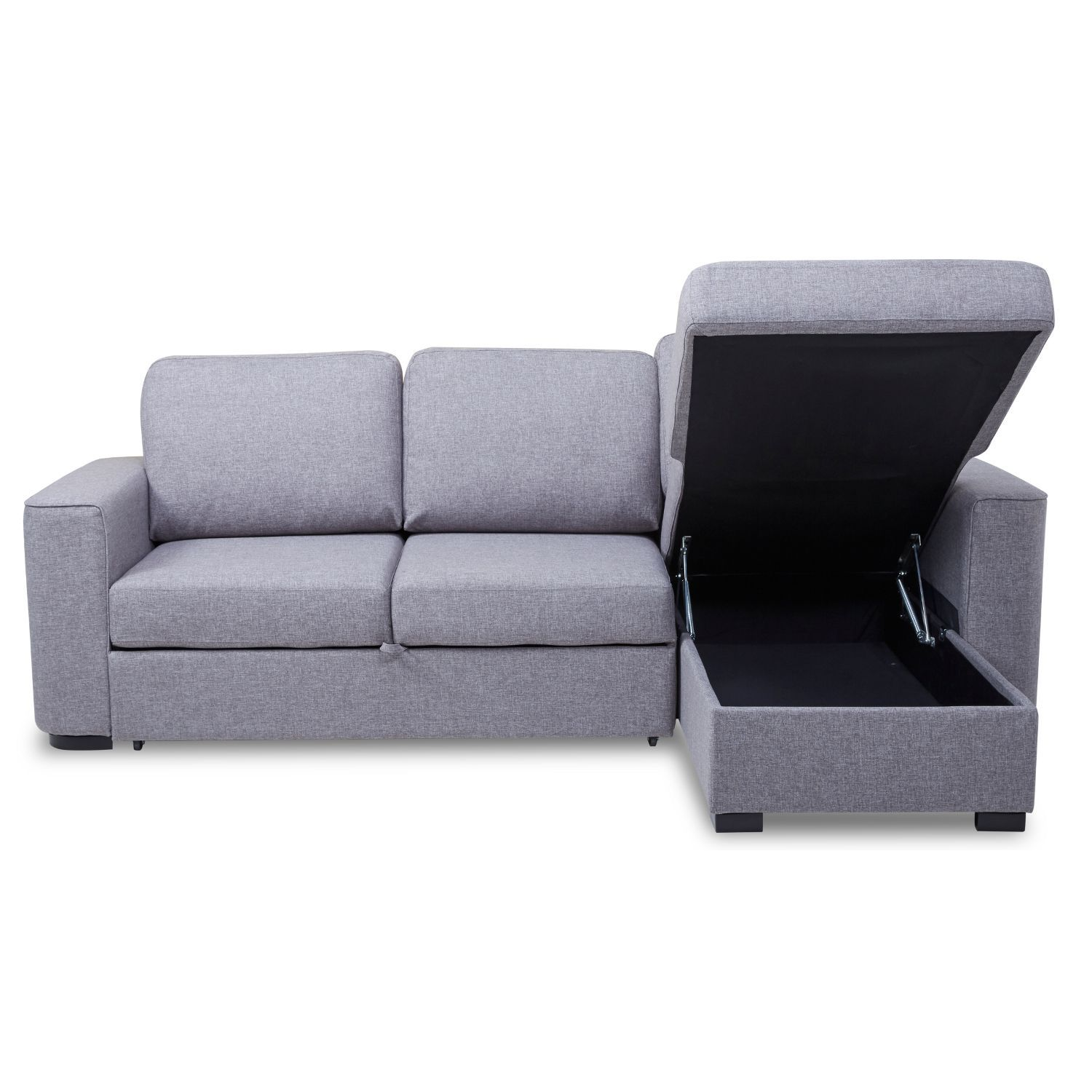 Ronny Fabric Corner Sofa Bed with Storage – Next Day ...