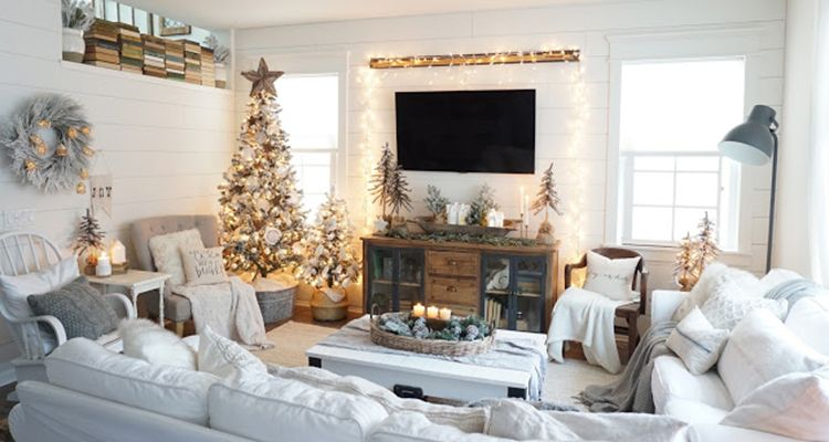 Quiz What S Your Christmas Decor Style Holiday Living Room Christmas Living Rooms Christmas Home