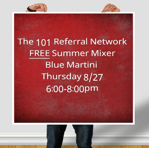 Great opportunity to network!