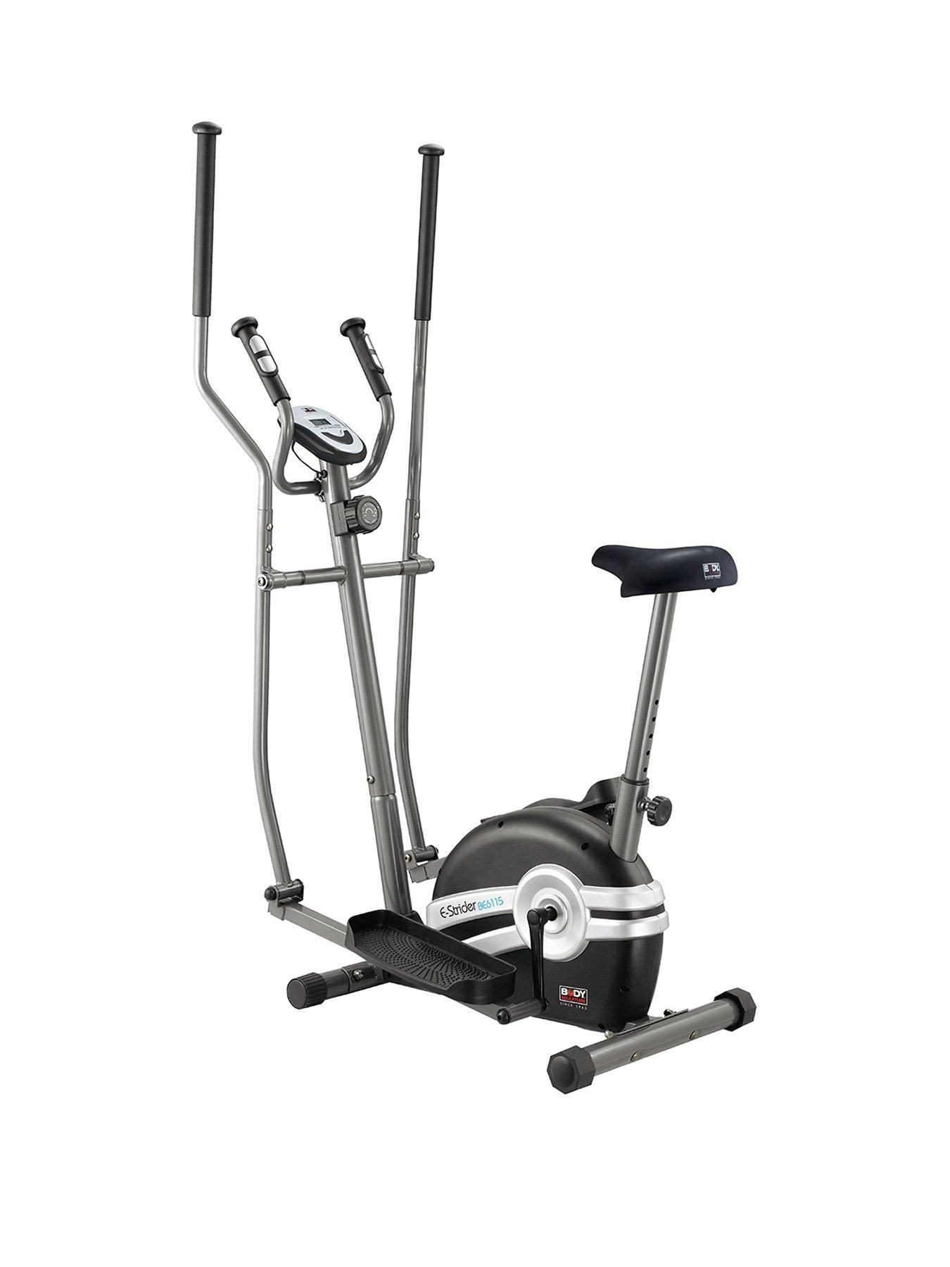Magnetic 2 In 1 Elliptical Cross Trainer And Exercise Bike With