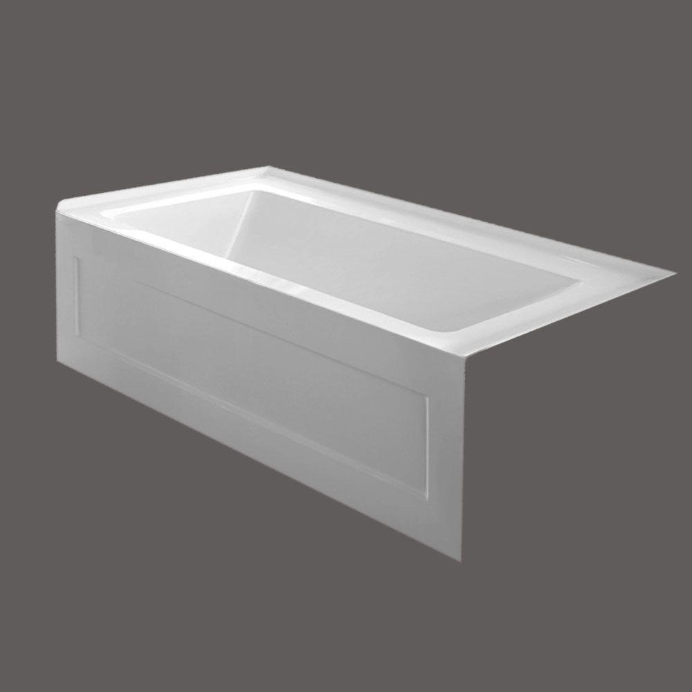 QUAD 54 X 30 Inch Skirted Bathtub Right Hand Drain | Home Ideas ...
