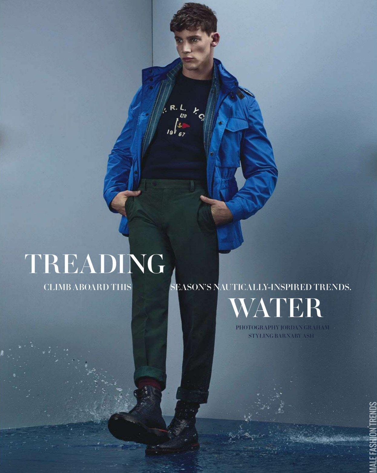 Tom Barker y Brent para GQ Australia Junio/Julio 2015   Male Fashion Trends