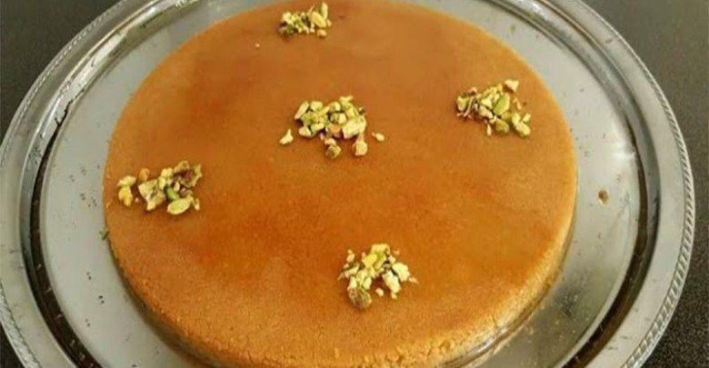 الكنافة النابلسية ملكة الحلويات العربية كنافة بالجبن Food Breakfast Pancakes