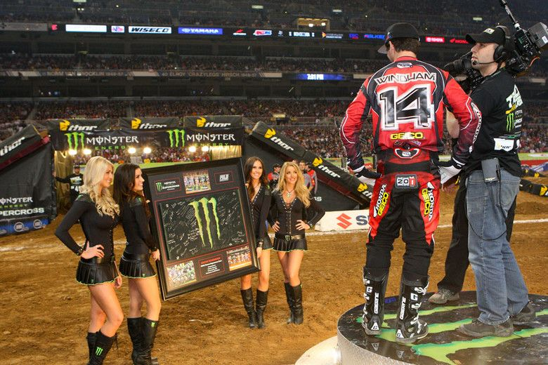 K-Dub passes 200 main event starts in the 450 class...that's impressive!
