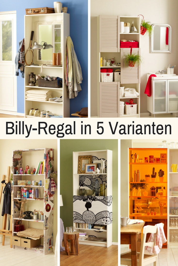 billy-regal aufpeppen | geniale hacks // tipps & tricks | pinterest