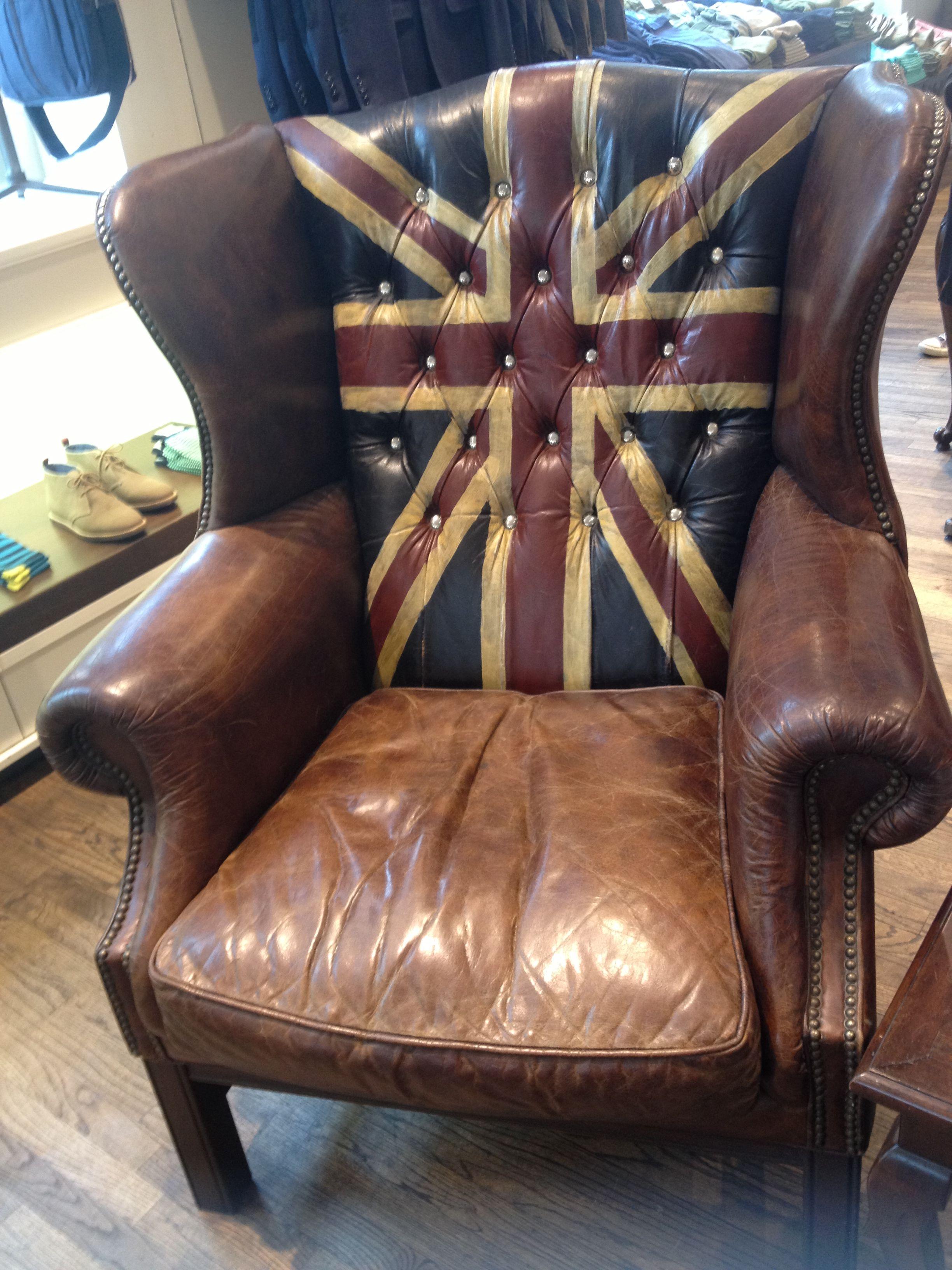 Union Jack Chair Union Jack Decor Union Jack British Furniture