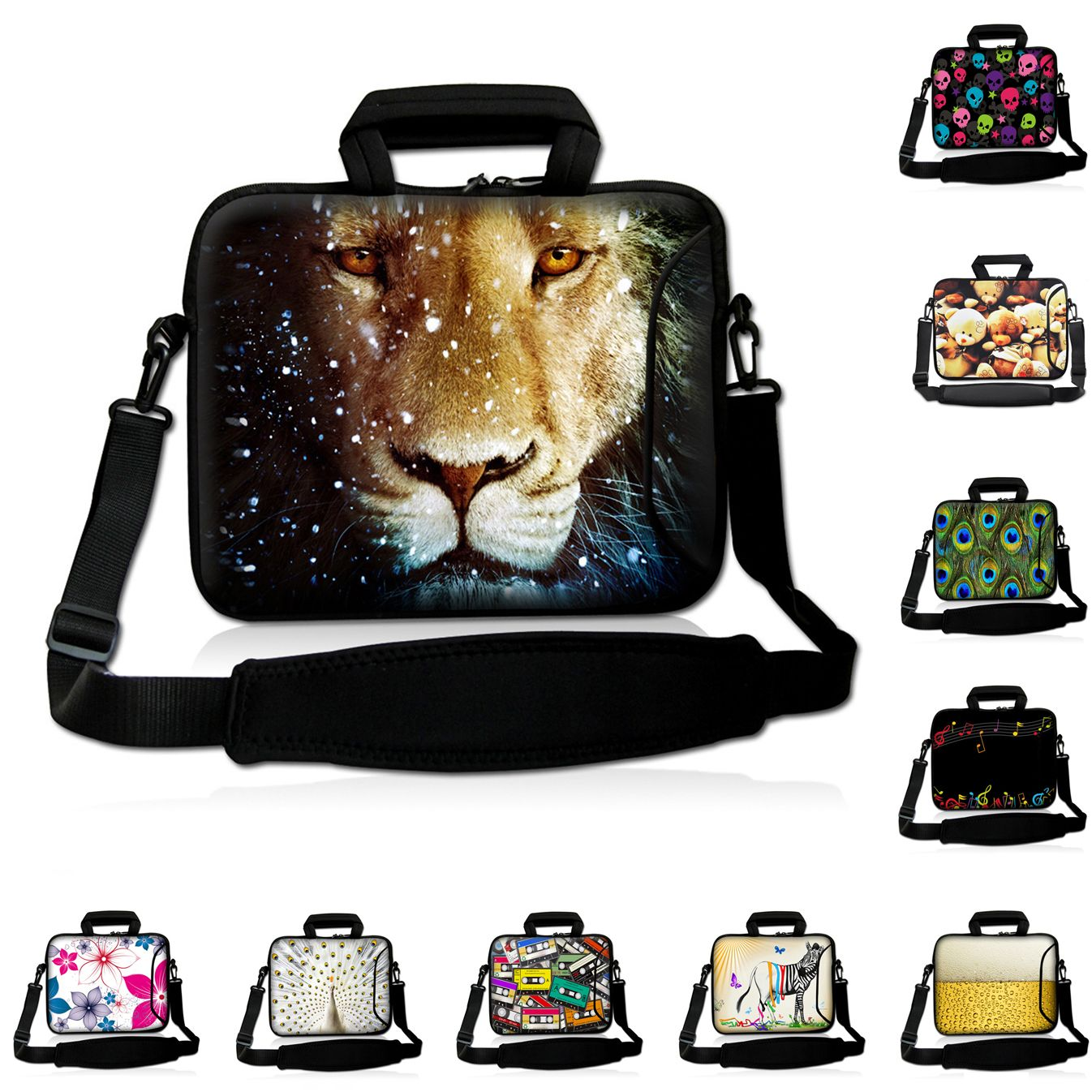 708ba23e7848 For HP Sony Vaio Teclast Case 16.8 Inch Laptop Bag Shoulder Case 12 15 14  17 10 13 Inch Notebook Messenger Bags 10.1