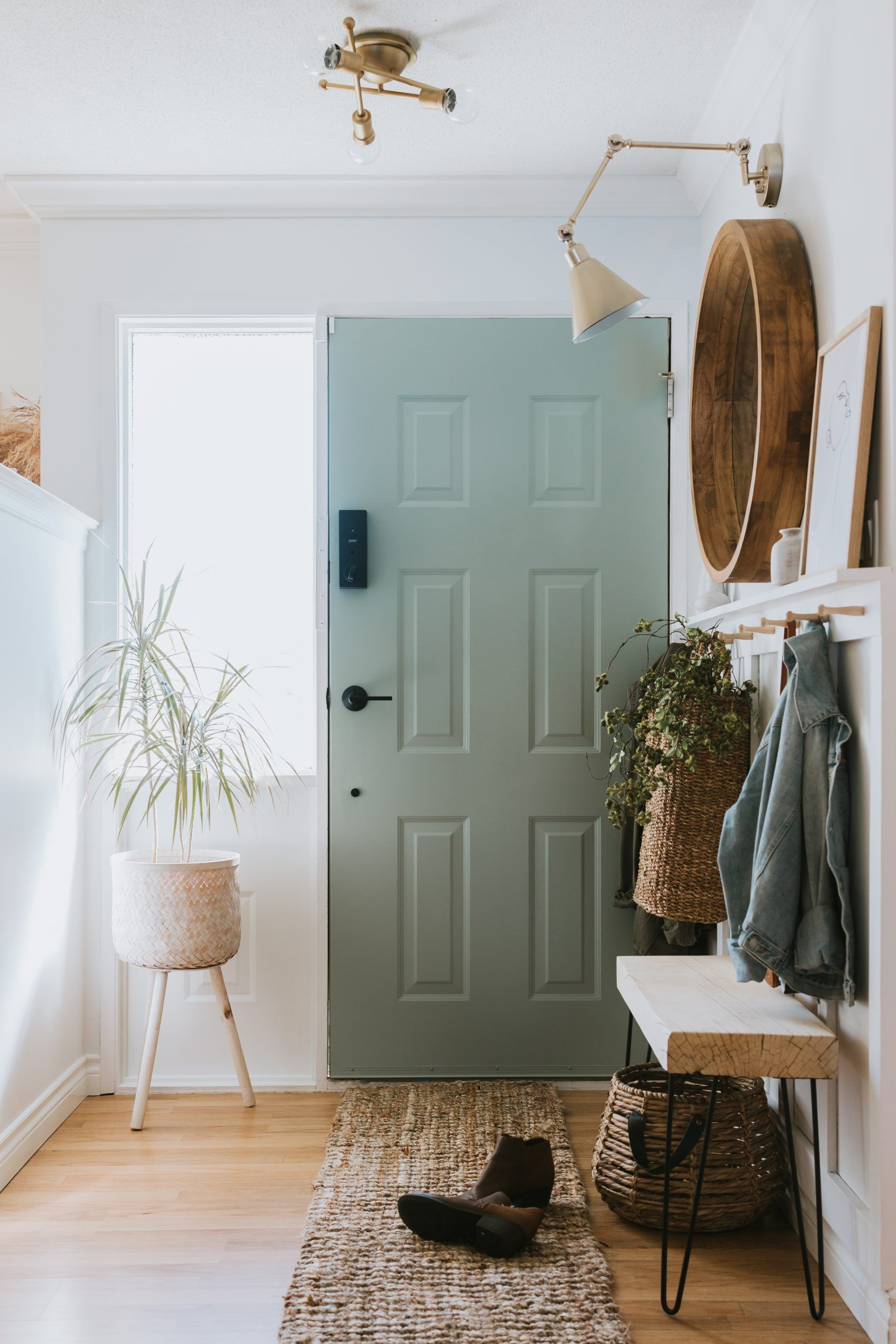 Sage Front Door and Painting Tips – Jessica Sara Morris