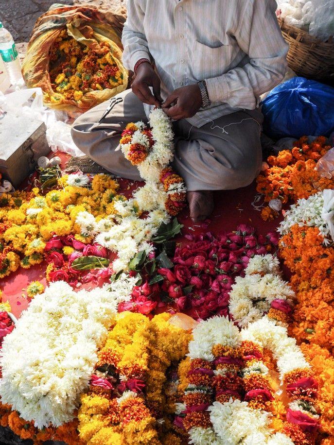 Fashion Me Now Rajasthan India Flowers