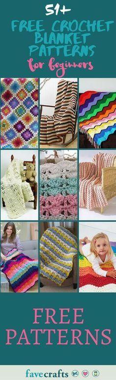 51 Free Crochet Blanket Patterns For Beginners Crochet Throw