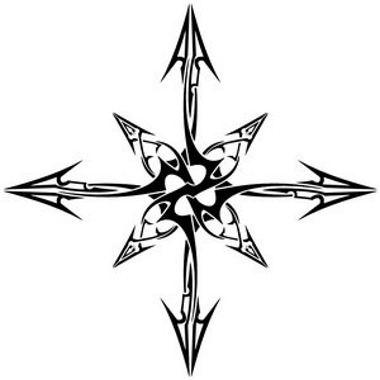 Tribal Archery Tattoos Star With Arrows Tattoo Here My Tattoo Find Your Tattoo Online Chaos Tattoo Arrow Tattoos Viking Symbols