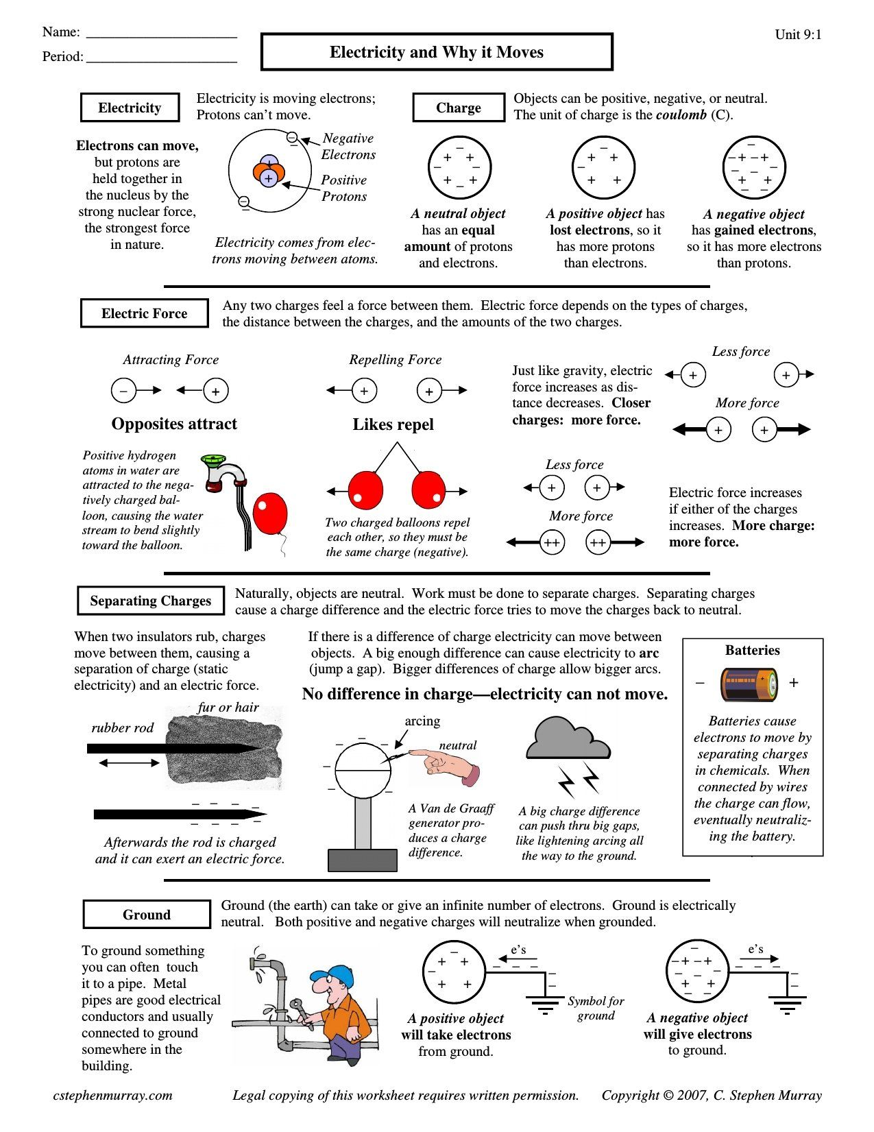 5Th Grade Magnetism Worksheets   Paragraph writing, 5th ...