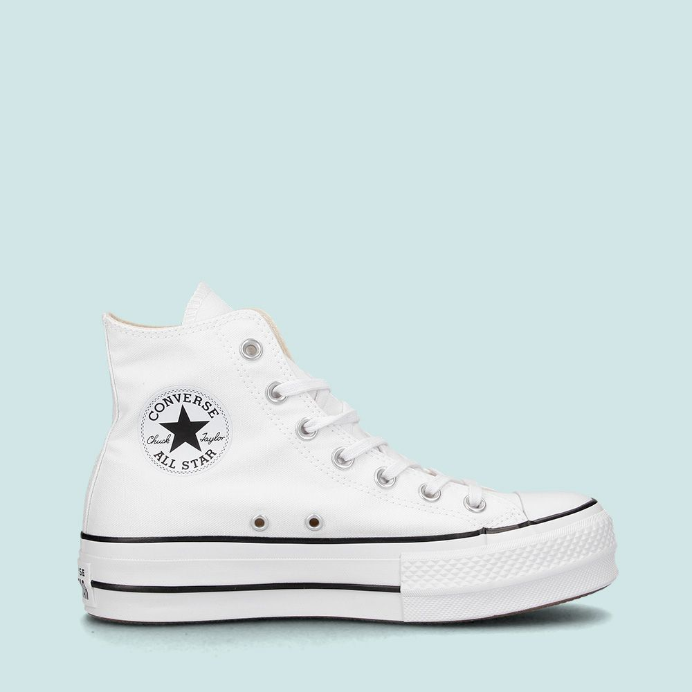 converse blancas altas all star