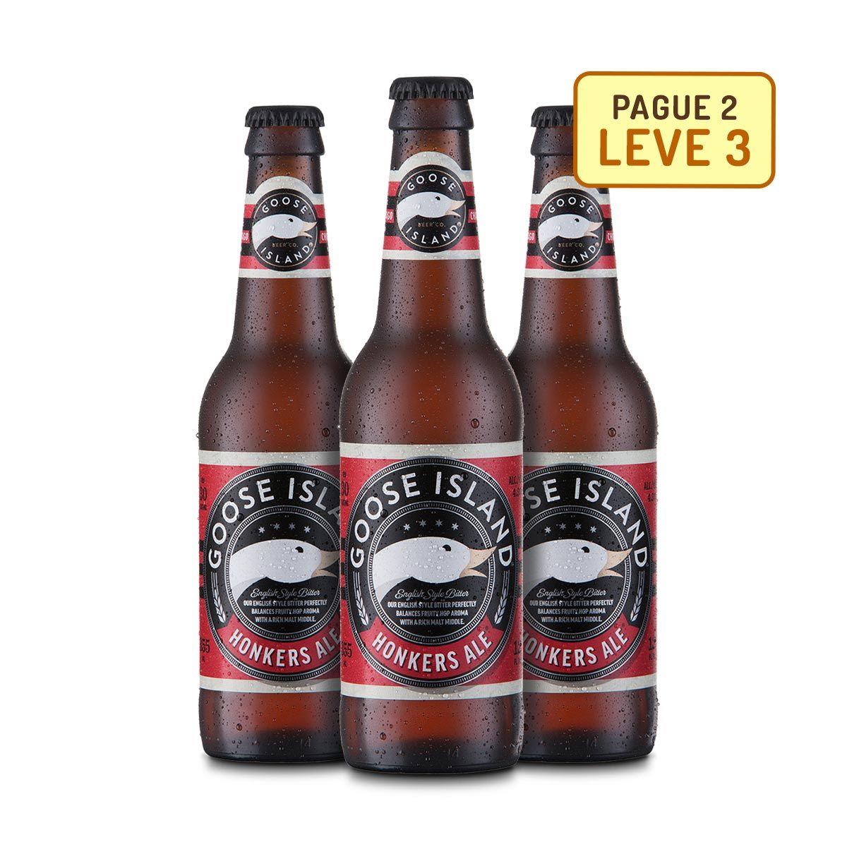 Kit Goose Island Honkers Ale 355Ml - Na compra de 2, Leve 3