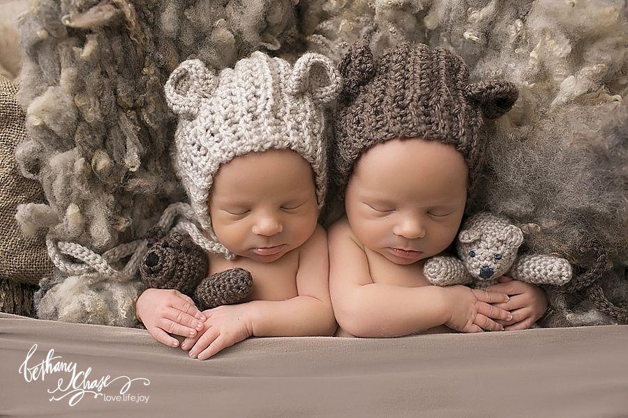 Twin boy newborn session rochester ny newborn photographer