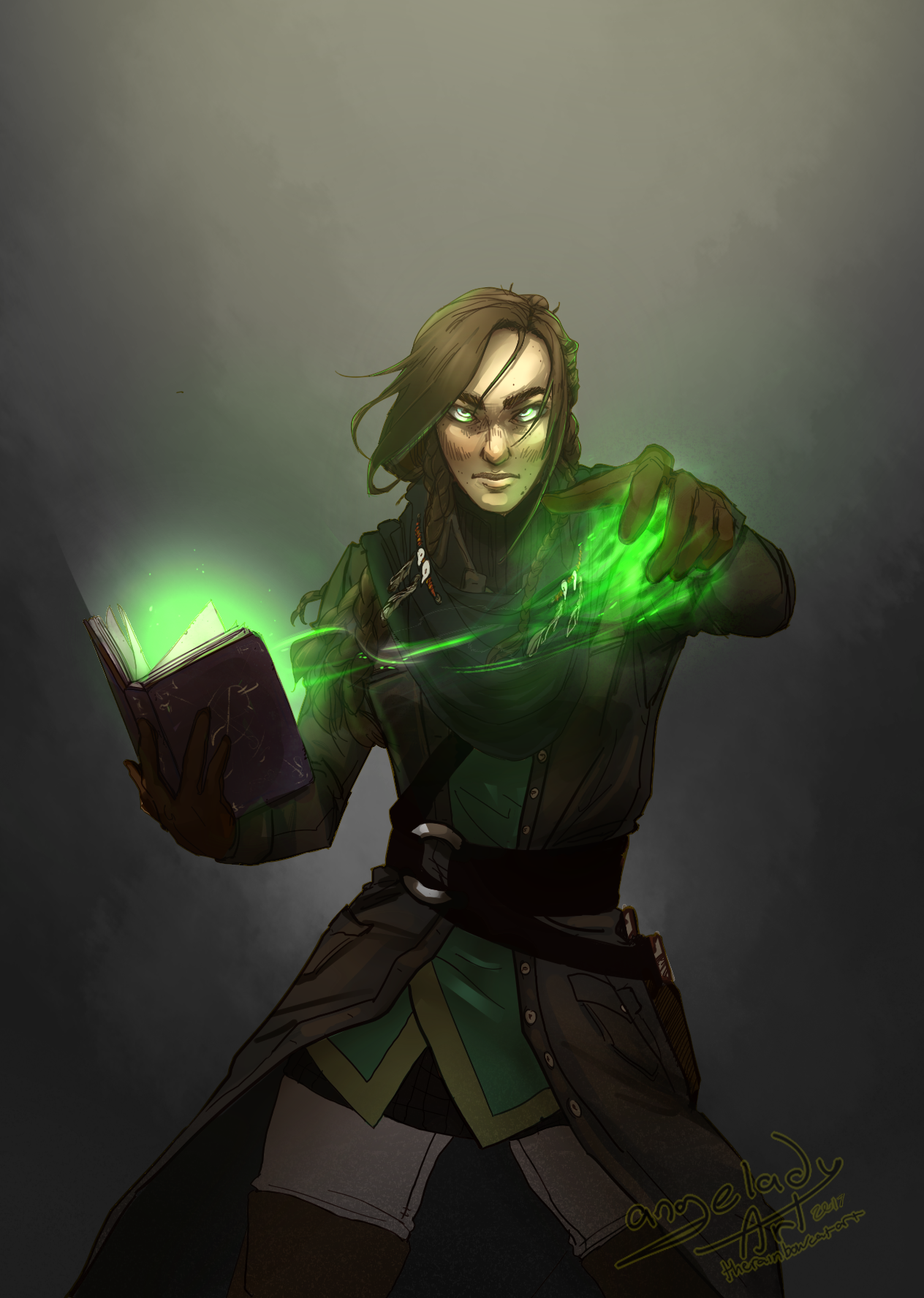"""-""""I am not worried that you die ,because I can always bring you back."""" My dnd character, Karina beign cool instead of being an awkward nerd she usually is. SHe can be a pretty cool necromancer time to..."""