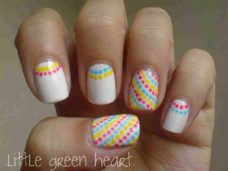 Cute and easy / simple nail art | Nail ideas | Pinterest | Simple ...