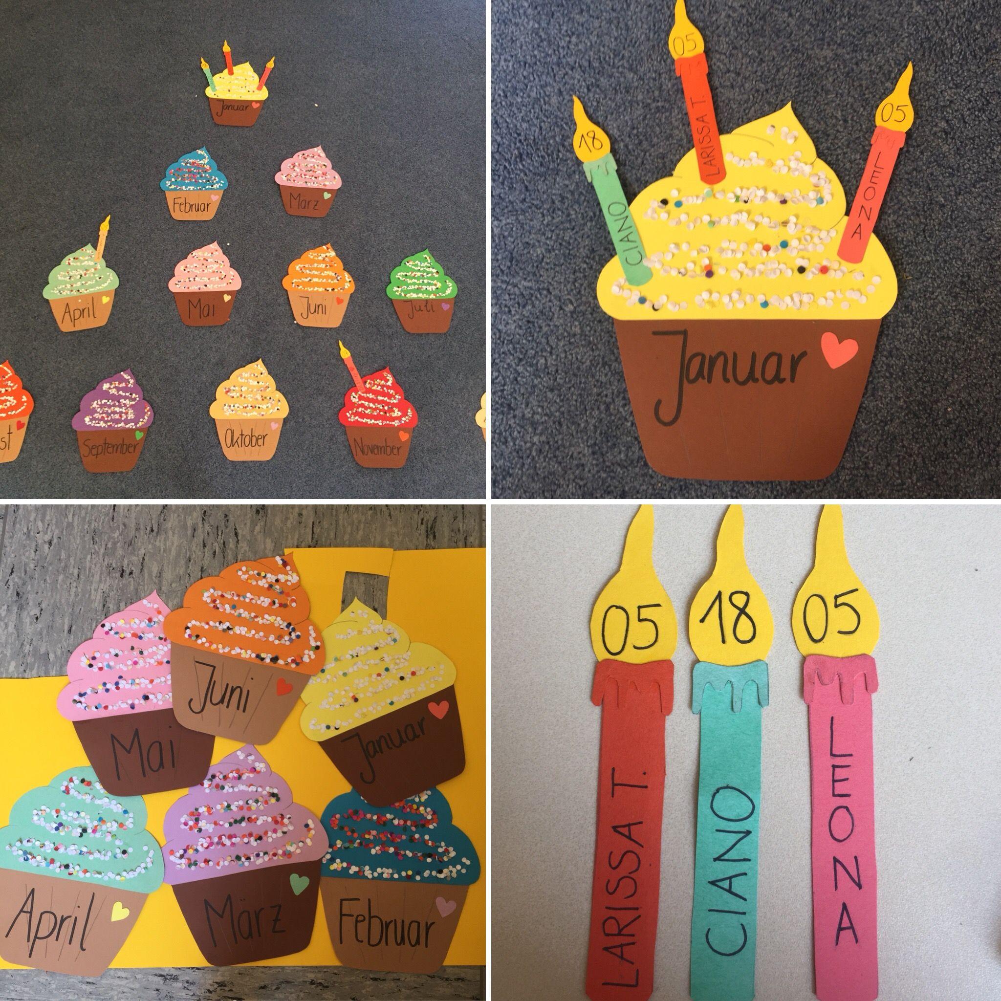 Cupcake Geburtstagskalender Einmal Vorlagen Machen Alles Aufzeichnen Ausschne Geburtstag Kalender Basteln Geburtstagskalender Geburtstagskalender Basteln