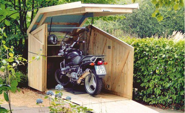 fahrradbox motorstalling fahrradbox motorradgarage en
