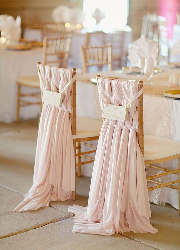 12 Ways To Dress Up Your Bride & Groom Chairs