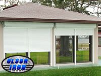 """Olson Rolling Shutters """"Another Awesome Job by Olson Iron"""" #olsoniron #LASVEGAS"""