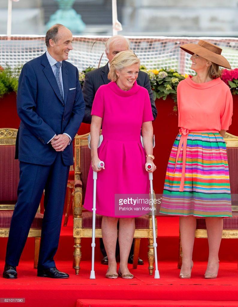 Prince Lorenz Of Belgium Princess Astrid Of Belgium And Princess Royal Family Princess Royal [ 1024 x 794 Pixel ]