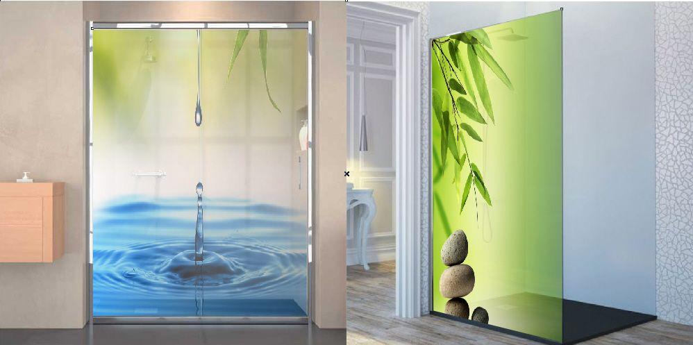 Attractive Mampara Baño · Duchas · Vinilo Decorativo Para Cristal. Cheap Vinilo  Translcido Impreso Letras Un Vinilo Para Pegar En Cristales