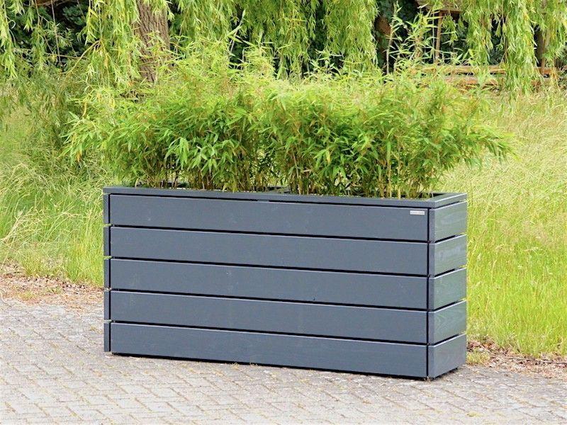 pflanzkasten pflanzk bel holz anthrazit grau pflanzkasten pflanzen pflanzkasten und garten. Black Bedroom Furniture Sets. Home Design Ideas
