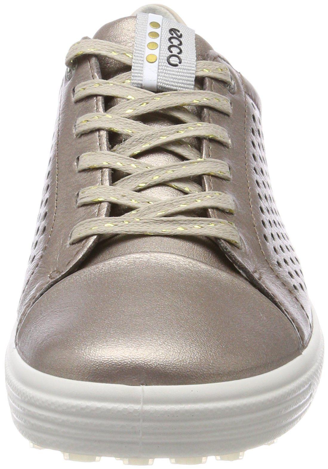 ECCO Womens Casual Hybrid Perforated Golf Shoe Warm Grey 39 M EU 88.5 US    Read d7b06f956eb56
