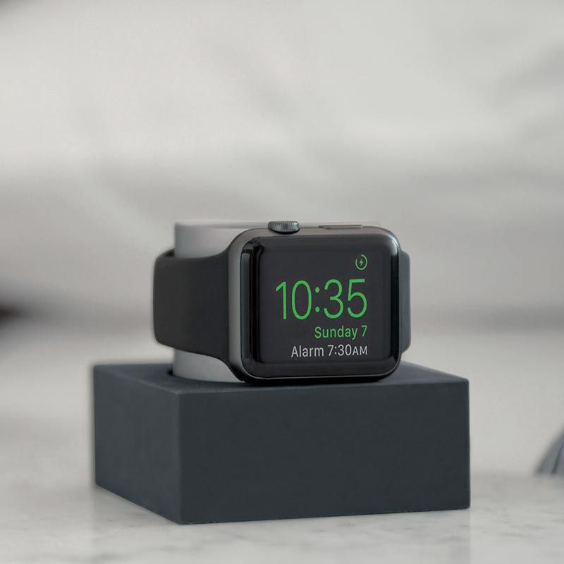 Dock for Apple Watch dock and charger as an alarm clock