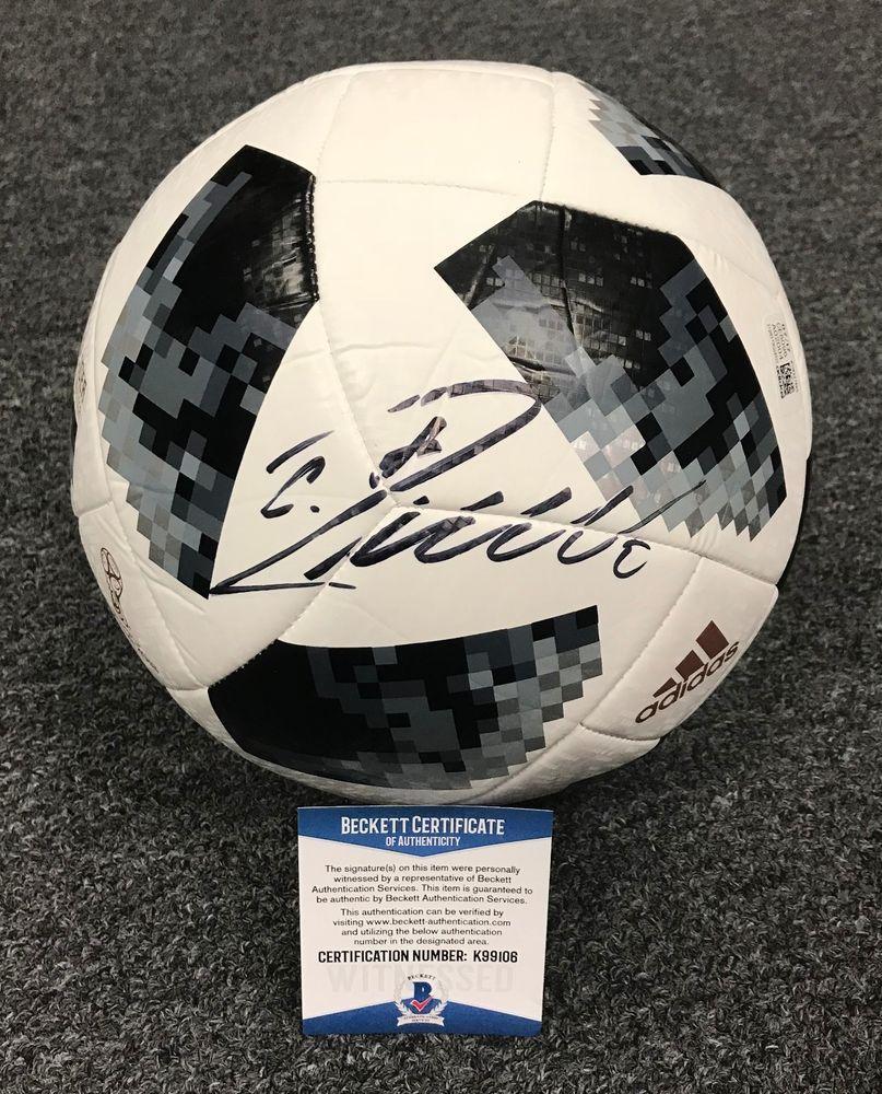 653fcd437ad Cristiano Ronaldo Signed Adidas Soccer Ball Autographed AUTO BAS WITNESSED  COA