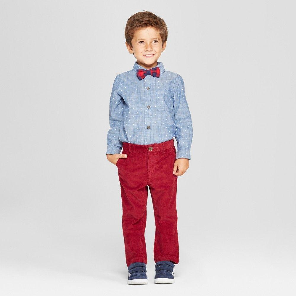 3pc Boys Suit Set Dark Gray Necktie Baby Toddler Kid Pants Uniform S-7