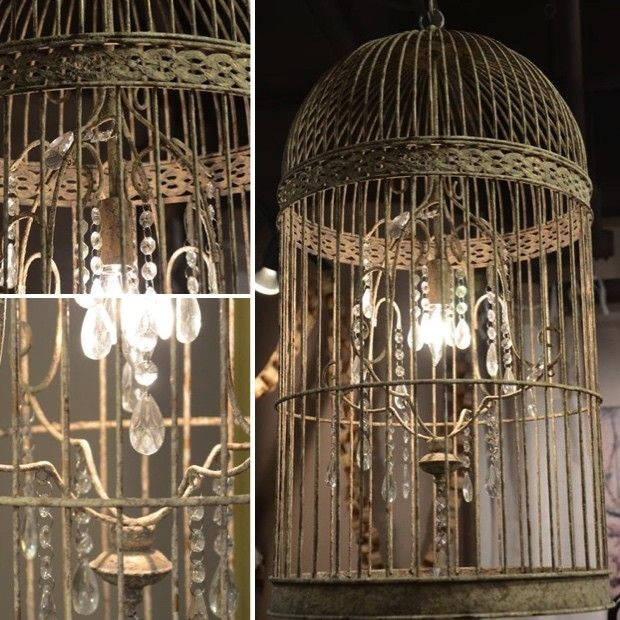 Cage Chandeliers | Dining Room Chandeliers | Rustic ...