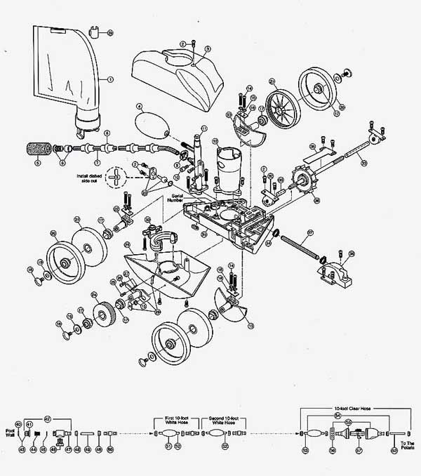 Automatic Pool Cleaners Polaris 280 Parts Diagram Automatic Pool Cleaner Pool Cleaning Polaris Pool Cleaner
