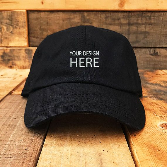 9ddb018facdbd Custom Embroidered Hats / Dad Hat / Embroidery Baseball Cap ...