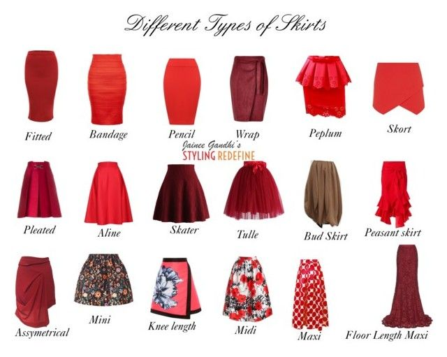 """Different Types of Skirts"" by jaineegandhi on Polyvore ..."