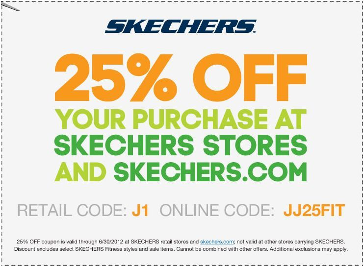 picture about Skechers Coupons Printable identified as Help you save 25% at Skechers! #coupon CheckPoints Bargains! within just 2019