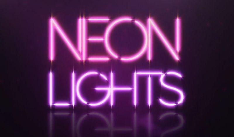 Neon Lights Lyric Video Neon - fresh periodic table of elements neon