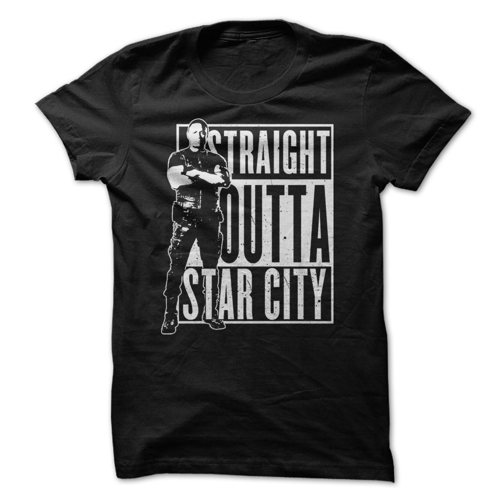 Top John Diggle – Straight Outta Star City tee shirt