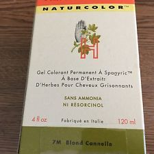 Herbaceuticals Naturcolor 7m Cinnamon Blonde 4 Fl Oz Diy Natural Products Hair Color Blonde